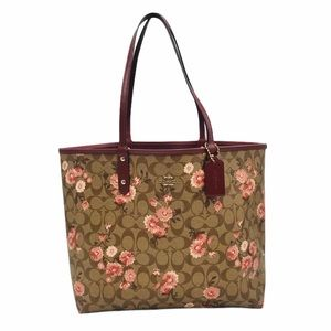 Coach Reversible City Tote Daisy Clusters F78279